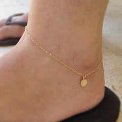 Dainty Gold ankle