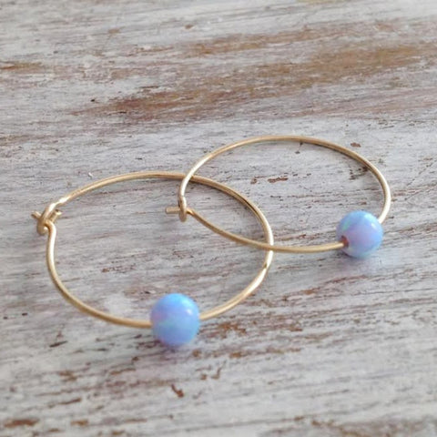 gold filled earrings