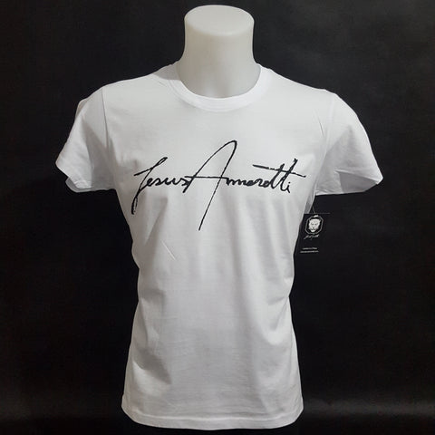 White Chest Signature T-shirt 2018 - Jesus Amoretti