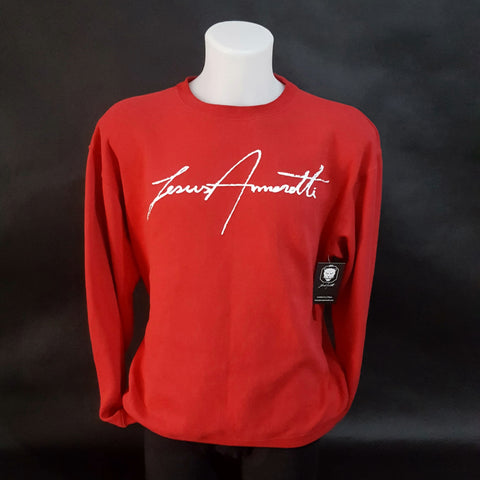 Red Signature Jumper 2018 - Jesus Amoretti