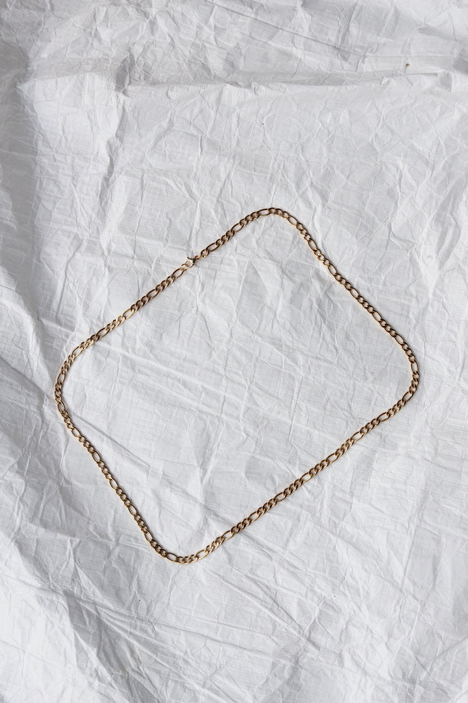 Beta Gold Chain Necklace