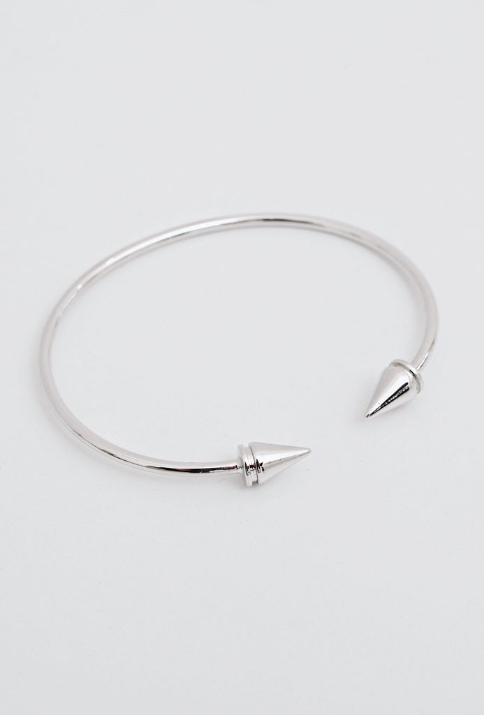 Gunmetal Cone Bangle