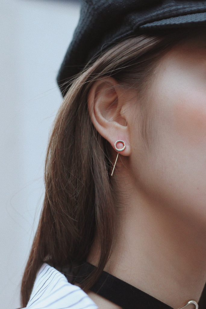 Yoon Pin Earrings - Circle