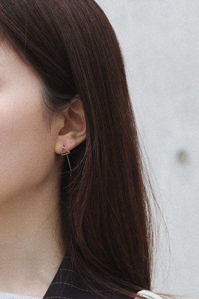 Yoon Pin Earrings - Triangle
