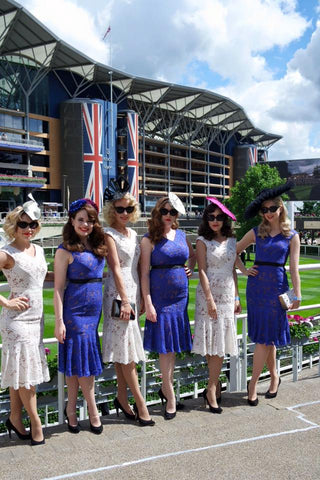 The Tootsie Rollers in The Season Hats at Royal Ascot 2016