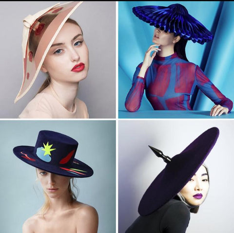 The Season Hats - best new milliners - British Fashion Council Headonism Initiative