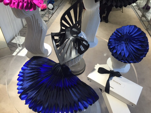 The Season Hats at Fenwick of Bond Street