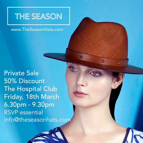 The Season Hats Private Sale March 2016