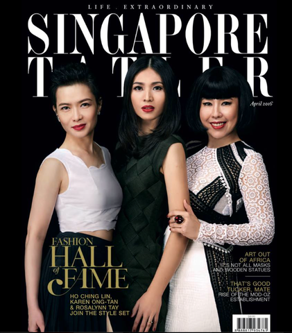 Singapore Tatler features The Season Hats