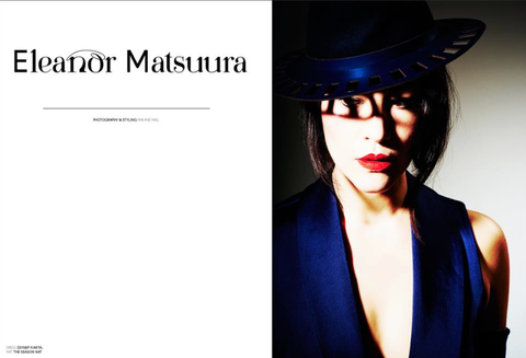 Eleanor Matsuura wearing The Season Hats