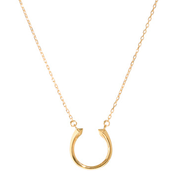 Baby Open Spike Necklace-14K Yellow Gold