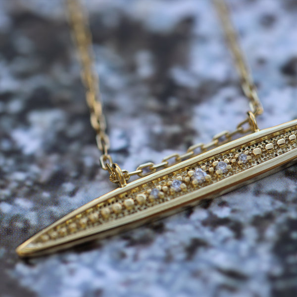 Diamond Horizon Necklace