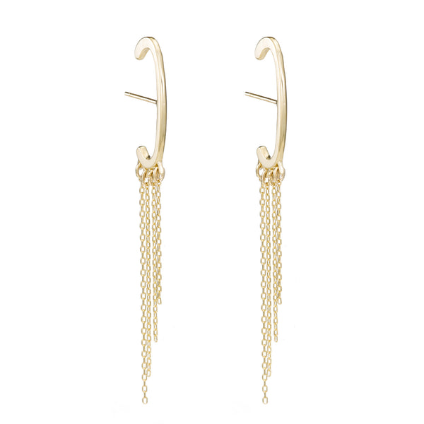 Waterfall Line Ear Cuffs