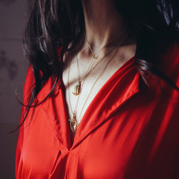 Dagger Lariat  Necklace