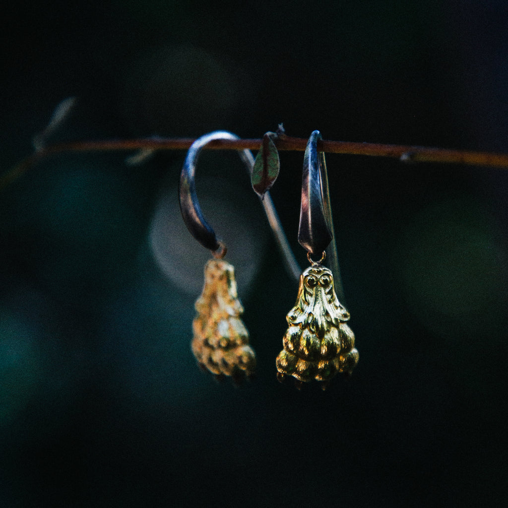 Paw Hook Earrings