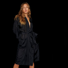 Load image into Gallery viewer, The Autumn Duster Robe-Midnight
