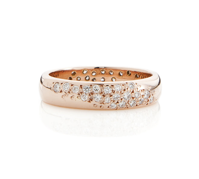 Moonlit Pave Ring
