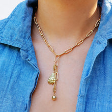 Load image into Gallery viewer, Infinity Hook Y Charm Necklace