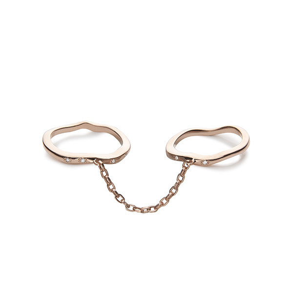 Two Finger Chain Ring