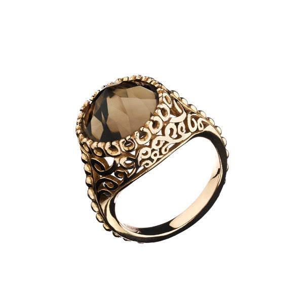 Viking Ring- 14K Rose Gold