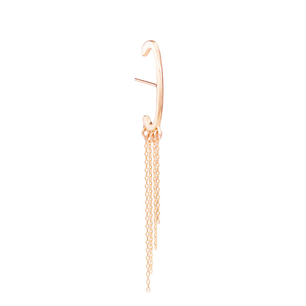 Waterfall Line Ear Cuffs- Single