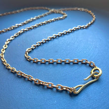 Load image into Gallery viewer, Mini Cable Hook + Loop Chain Necklace