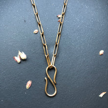 Load image into Gallery viewer, Infinity Hook Charm Necklace