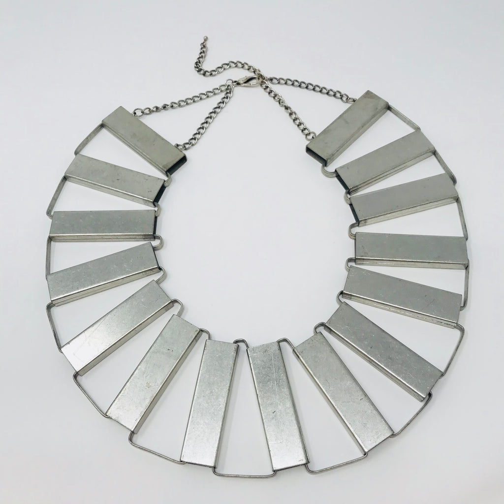 Metal Statement Necklace