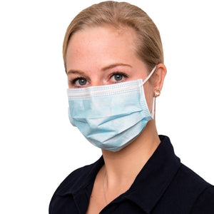 "OP-Mundschutz ""SOFT PROTECT"" blau - NITRAS Medical®"