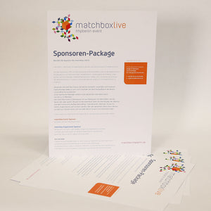 "Infoblatt ""Sponsoren-Package"" 2015"