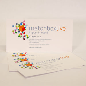 Tickets matchboxLive