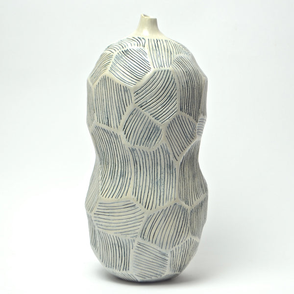 Roccia Collection: Medium Roccia Vase (blu)