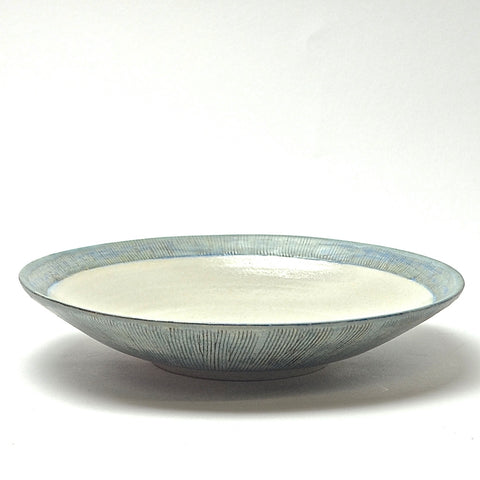 Sticks Collection: Plate-Bowl (turquoise)