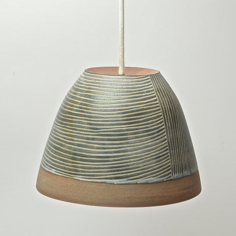 Contour Lines Collection: Hanging Light (turquoise)