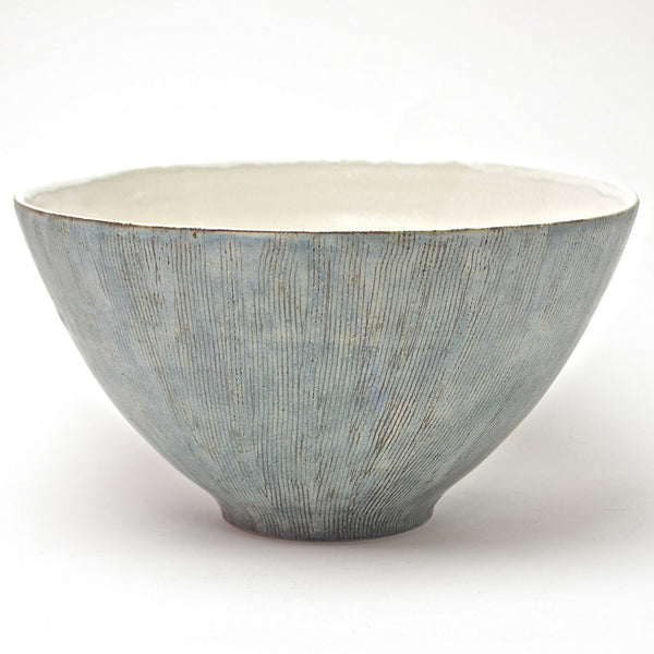 Sticks collection: Large Serving Bowl (turquoise)