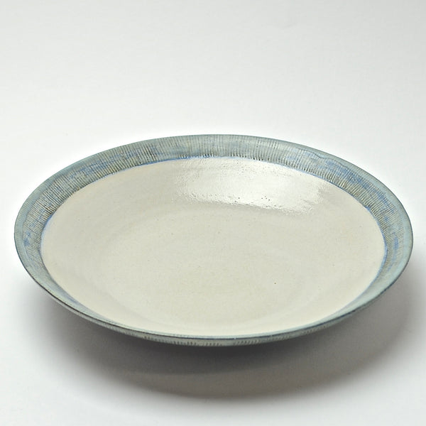Sticks Collection: Set of 6 Plate-Bowls (turquoise)