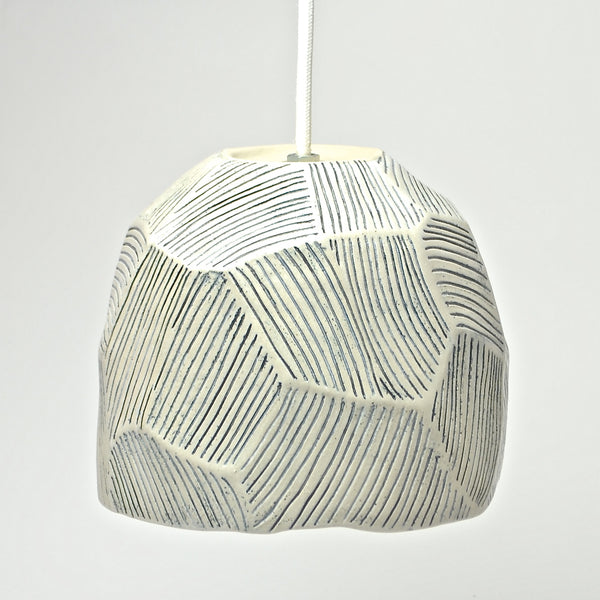 Roccia Collection: Hanging Light (blu)