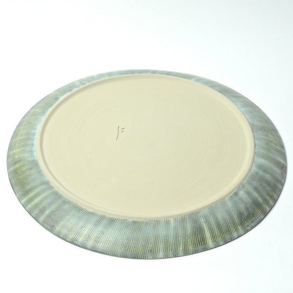 Sticks Collection: Large Serving Plate (blu)