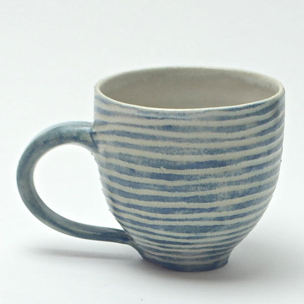 Contour Lines Collection: Espresso Cup (turquoise)