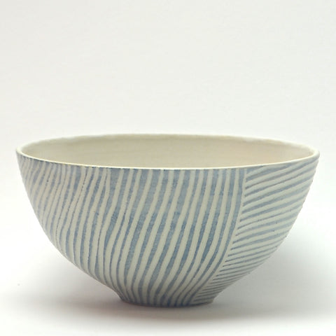Contour Lines Collection: Oliva Bowl (turquoise)