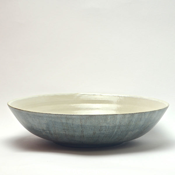 Sticks collection: Medium Serving Bowl (turquoise)