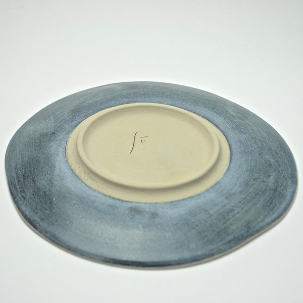 Foglia Collection: Small Serving Plate (ombra)