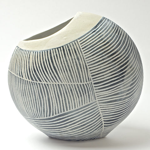 Contour Lines Collection: Small Fish Vase (ombra)
