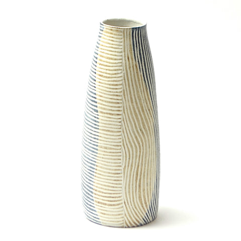 Contour lines Collection: Medium Stork Vase (ombra/terra)