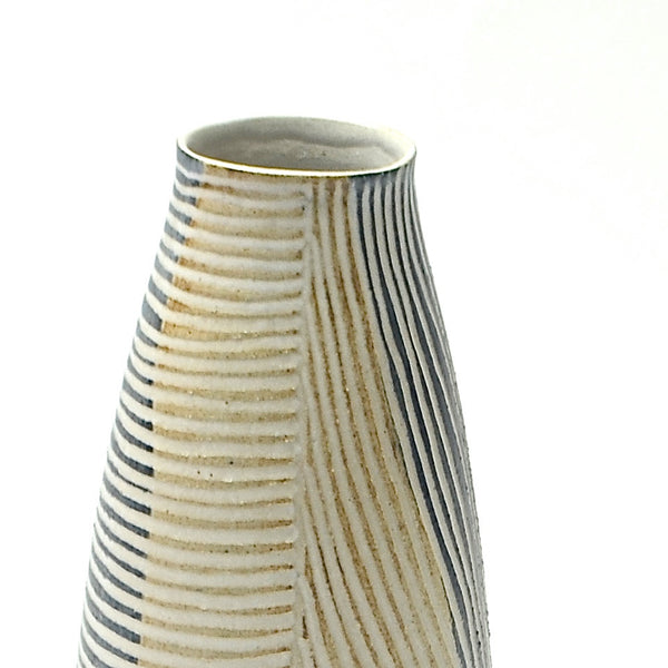 Contour lines Collection: Small Stork Vase (ombra/terra)