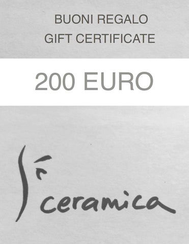 200 Euro Gift Certificate