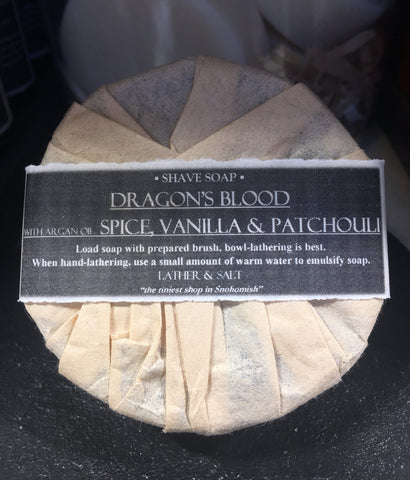 DRAGON'S BLOOD SHAVE SOAP