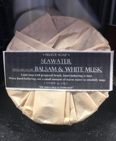 SEAWATER SHAVE SOAP