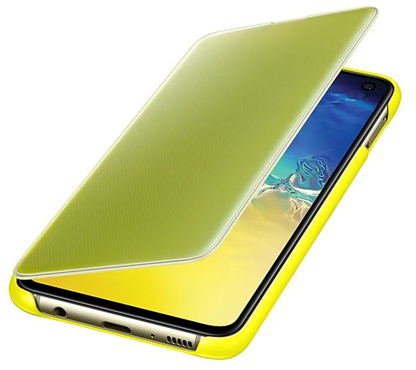 Samsung S10E Clear View Cover Yellow EF-ZG970CYEGWW Retail Packed