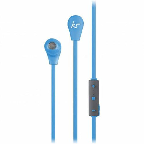KITSOUND Bounce Wireless Sport Bluetooth Headset Blue Retail Packed